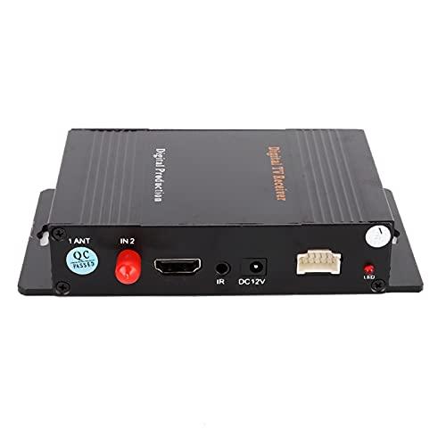 Receptor De TV, DVB-T MPEG 4 Receptor De TV Portátil...