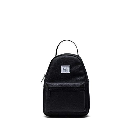 Herschel Unisex's Nova Backpack Mini, Black Sparkle, One Size