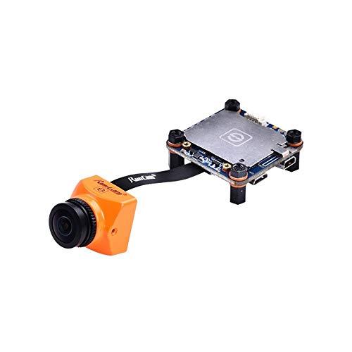 HELEISH RunCam de Split 2S campo de visión de 170 grados de Super WDR Mini FPV Cámara 1080P 60fps OSD HD DVR de grabación for RC aviones no tripulados Piezas de montaje de bricolaje