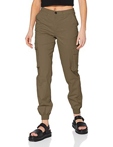 ONLY Damen ONLTIGER Life MW Cargo Pant PNT Hose, Covert Green, 38/34