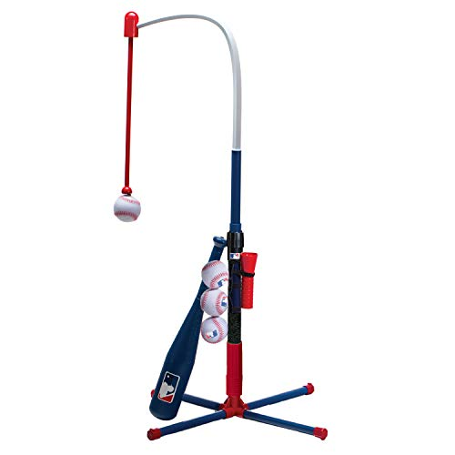 Franklin Sports Kids Teeball and Baseball Batting Tee - MLB 2-in-1 Grow-with-Me Tee - Adjustable...