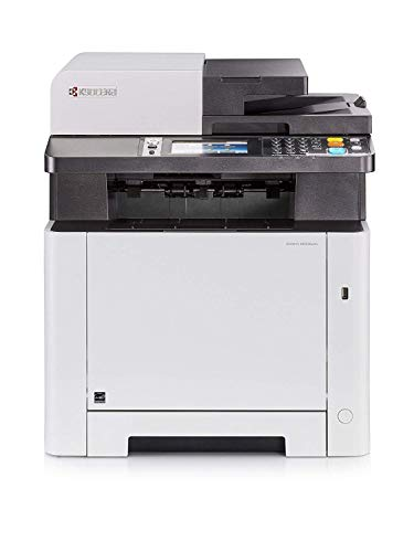 Kyocera Ecosys M5526cdn Farblaser Multifunktionsdrucker: Drucker, Kopierer, Scanner, Faxgerät. Inkl. Mobile-Print-Funktion. Amazon Dash Replenishment Funktion