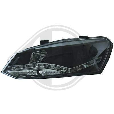 2206685 koplamp Daylight LED zwart voor Polo 6R van 2009 tot 2014