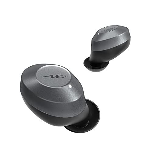 ラディウスradiusHP-T200BTノイズキャンセリング搭載完全ワイヤレスイヤホン:Bluetooth対応フルワイヤレスANC外音取り込み左右分離型AAC長時間再生軽量小さいコンパクトIPX5防水イヤホンHP-T200BTK(ブラック)
