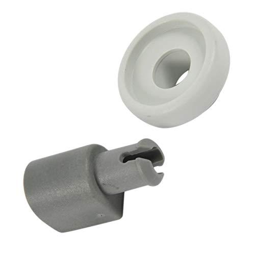 ORIGINAL Korbrolle Rad für Oberkorb Spülmaschine grau Electrolux AEG 405503972