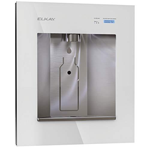 Elkay LBWD06WHK ezH2O Liv Built-in Filtered Water Dispenser, Remote Chiller, Aspen White