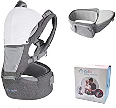 Baby Carrier Hip Seat for Newborn Toddler,Front Facing Child Carrier,Baby Back Carrier,All Season Breathable for Nursing Hiking Travel Indoor. Baby Shower Gift for New Mom and Dad, Father's Day Gift
