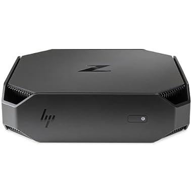 HP Z2 Mini G4 Mini Desktop PC, Intel Core i5-9500 Up to 4.4GHz, 8GB RAM, 256GB NVMe SSD, DisplayPort, Wi-Fi, Bluetooth…