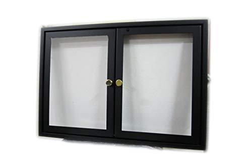 Puerta con cristal cerámico de 760°, con dos puertas batientes para chimenea.