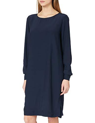 ESPRIT Collection Damen 021EO1E308 Kleid, 400/NAVY, 44