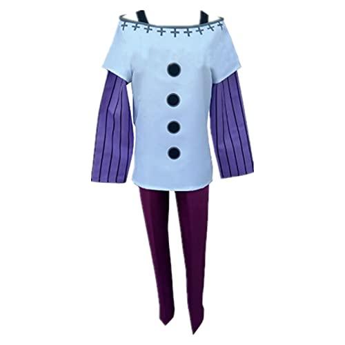 ULLAA Disfraz de Halloween para cosplay de anime, los siete pecados mortales de cabra pecado de lujuria Anime traje diario trajes para exposicin de anime