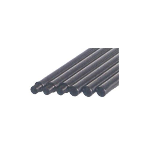 Stativstangen, Ø - 12 mm, Länge 750 mm, mit Gewinde M10, aus Stahl