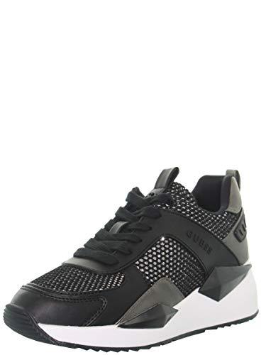 Guess Art. FL5TP2FAM12 Sneaker con Zeppa Interna (38 EU, Nero)