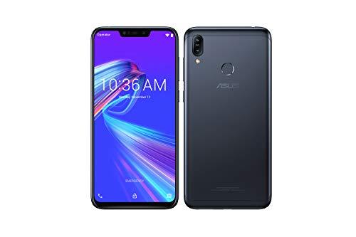 ASUS -, Zenfone Max M2 ZB633KL, Smartphone débloqué, 3 Go (6,3 Pouces, 32Go, Double Nano SIM + MicroSD, Android 8.1) Noir