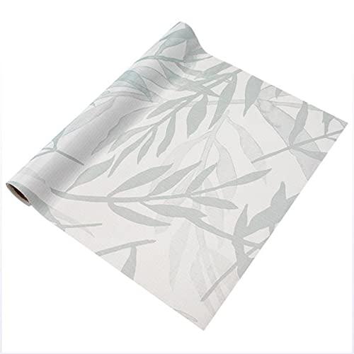 LOKIH Plastico Protector para Cocina Cajones Alfombras Non Adhesivo para Nevera Mueble Fregadero Estante Organizador Cubiertos,4 Opciones de tamaño Patrón de bambú,45x500cm