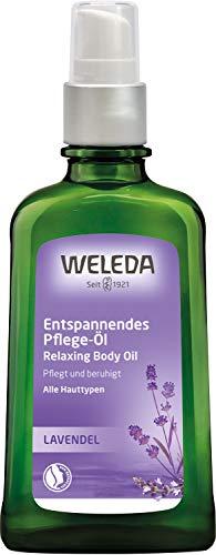 WELEDA Lavendel Entspannungsöl, ätherisches Naturkosmetik Massage- und Körperöl, 100ml