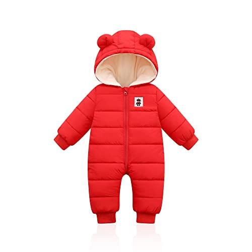 Jumpsuit De Cálido Bebé Niño Niño Niñera Ropa Ropa Cómoda Invierno Otoño Otoño Mono Cálido