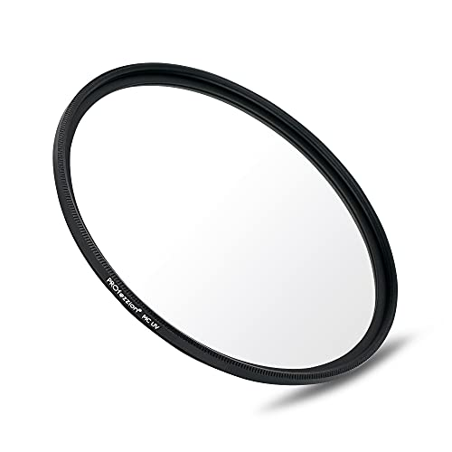 PROfezzion 49mm UV Filter for Canon EOS M50 M50 Mark II M5 M6 with Canon EF-M 15-45mm f /3.5-6.3 is STM Kit Lens, Multi-Coated & Ultra Slim UV Protective Filter for Lens with 49mm Filter Thread