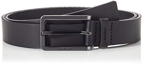 Calvin Klein Essential Plus Elong 30MM Cintura, CK Nero, 90 cm Uomo