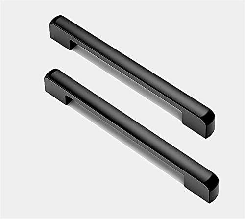 Manijas para Puertas de Cocina Manijas para gabinetes Paquete de 4 Manijas para Puertas de aleación de Aluminio Manijas para Muebles de Cocina Manijas para gabinetes y manijas para guardarropas Mini