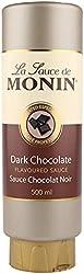 Monin Dark Chocolate Sauce, Chocolate, 500 ml,730682