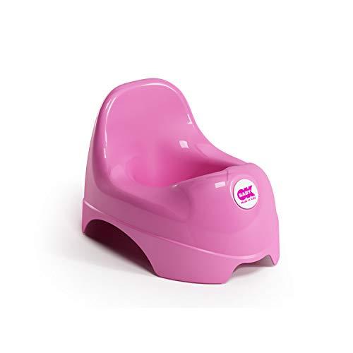 OKBABY Relax - Vasino per Bambini con Seduta Ergonomica e Schienale Rialzato - Fucsia