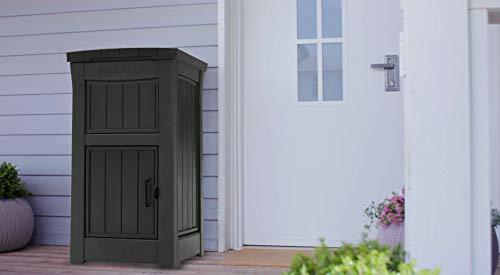 Koll Living Garden Briefkasten - Paketkasten - Paketstation - Paketbriefkasten für zuhause - abschließbar - kann am Boden befestigt Werden - Ihre Pakete bleiben trocken und sicher