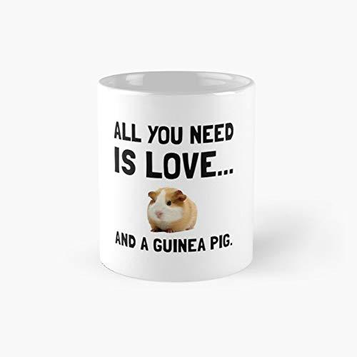 Love And A Guinea Pig Classic Mug 11,15 Oz.