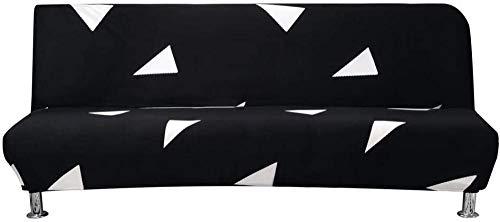 Fundas de sofá cama Fundas de cama Fundas de sofá Sofá elástico nórdico Sofá sin brazos Futón elástico Funda antideslizante Patrón geométrico antideslizante Funda de sofá cama Funda de sofá estamp