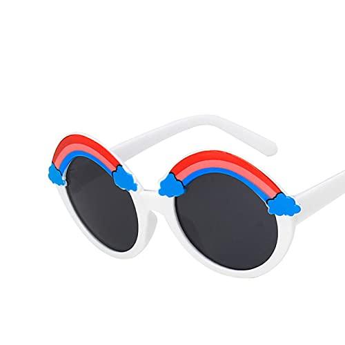 Aiong Gafas de Sol de Dibujos Animados, Gafas de Sol para niños Dibujos Animados para bebés Protección Ocular a Prueba de Rayos Ultravioleta Linda