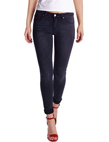 Fraternel Dames Jeans Spijkerbroek skinny stretch Zwart S