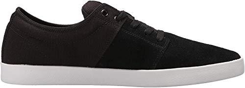 Supra Stacks II Skate Shoe, Black/Grey-White, 11