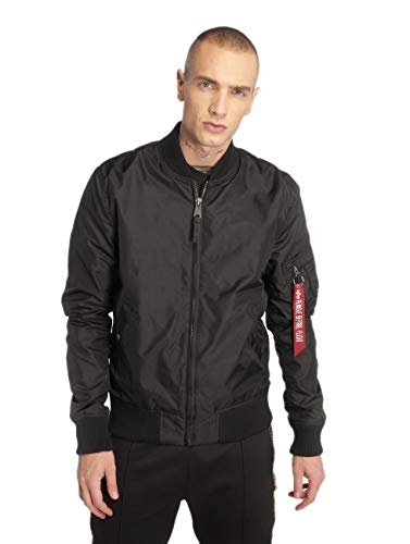 ALPHA INDUSTRIES Herren MA-1 TT Jacke, Black, XS