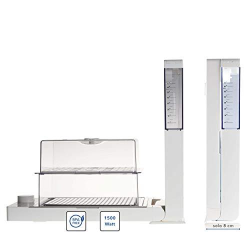 VIVO Vapo Jet | Vaporiera Istantanea, Salva Spazio, Vaporiera Elettrica | Cottura al vapore, utile anche per sterilizzare
