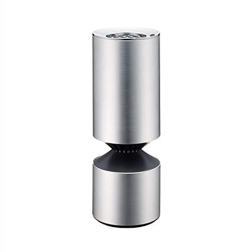 Purificateur d'air de voiture Purificateur d'assainisseur d'air de voiture pour générateur d'ions de voiture avec ports de charge 5V 1A pour téléphone portable ou autres périphériques USB