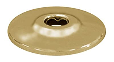 Plumbest E80-050 Escutcheon for 5/8-Inch Outside Diameter Pipe, Polished Brass