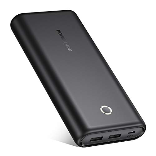 POWERADD Powerbank EnergyCell 20000mAh Power Bank Externer Akku Portable Charger für Handy, iPhone, iPad, Samsung Galaxy Huawei und Andere Smartphones