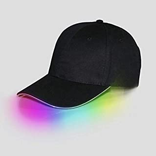 SHISI LED baseball cap light hat sports travel party hat with light