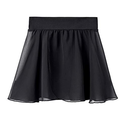 STELLE Ballet/Dance Chiffon Wrap Skirt for Toddler/Girls/Women