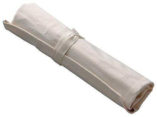 藤次郎帆布ナイフポケット日本製包丁を安全に持ち運ぶ5丁収納可能牛刀240mm・洋出刃240mm・出刃165mm・柳刃240mmまでの包丁に対応F-359
