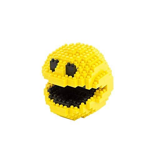 Brick Loot - Pixel Monster - 266 Piece Building Block Set Kit Model for Kids and Adults - Fits Mini Nano Sized Blocks