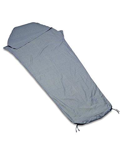 Lifeventure – Ex Cotton Travel Sleeper Mummy, Couleur Charcoal