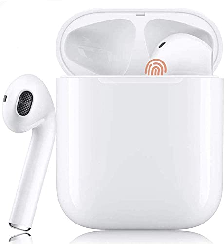 Auricolare Bluetooh,Cuffie Bluetooth touch,24h Playtime 3D stereo HD Cuffie Wireless, Binaurale Call auto Pairing,Con Scatola di Ricarica,Per IOS/Samsung/Huawei/Android