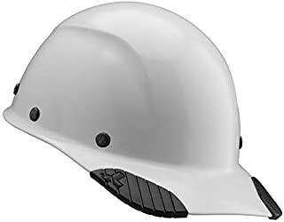 DAX Cap Style Safety Hard Hat, New & Improved 6 Pt. Adjustable Ratchet Suspension, Personal Protective Equipment/PPE for Construction, Home Improvement, Diy Projects (White)