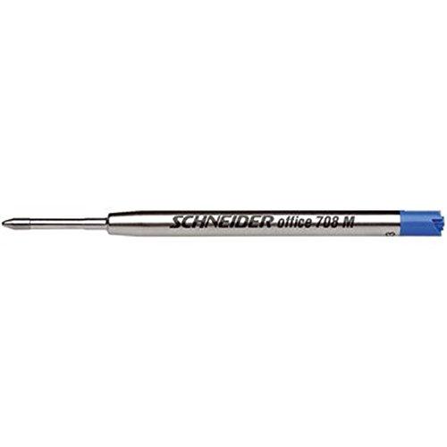 Gro/ßraum-Kugelschreibermine M16 blau Farbe Lamy 2er-Set. F Strichbreite