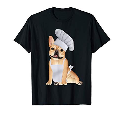 French Bulldog Chef - cute dog in a chef hat T-Shirt