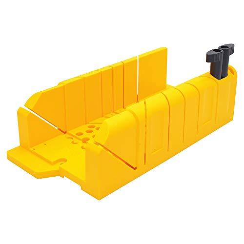 STANLEY 1-20-112 - Ingletadora material sintético, anchura máxima de corte 130 mm