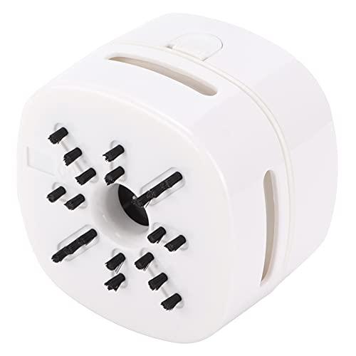 Nuobi Aspiradora de Polvo de Escritorio, barredora de Polvo de Mesa con un botón Que se Activa con una Mano para la Oficina para el hogar(Atenas Blanco)