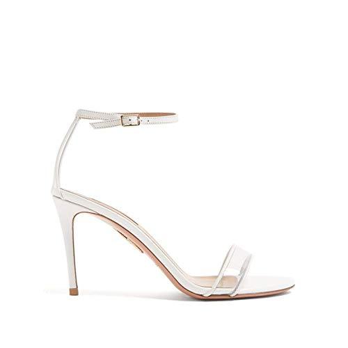 [アクアズーラ] レディース シューズ・靴 サンダル・ミュール Minimalist 85 leather sandals White サイズ37.5EU-IT [並行輸入品]