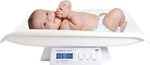 Myweigh - Báscula digital para bebé, color blanco